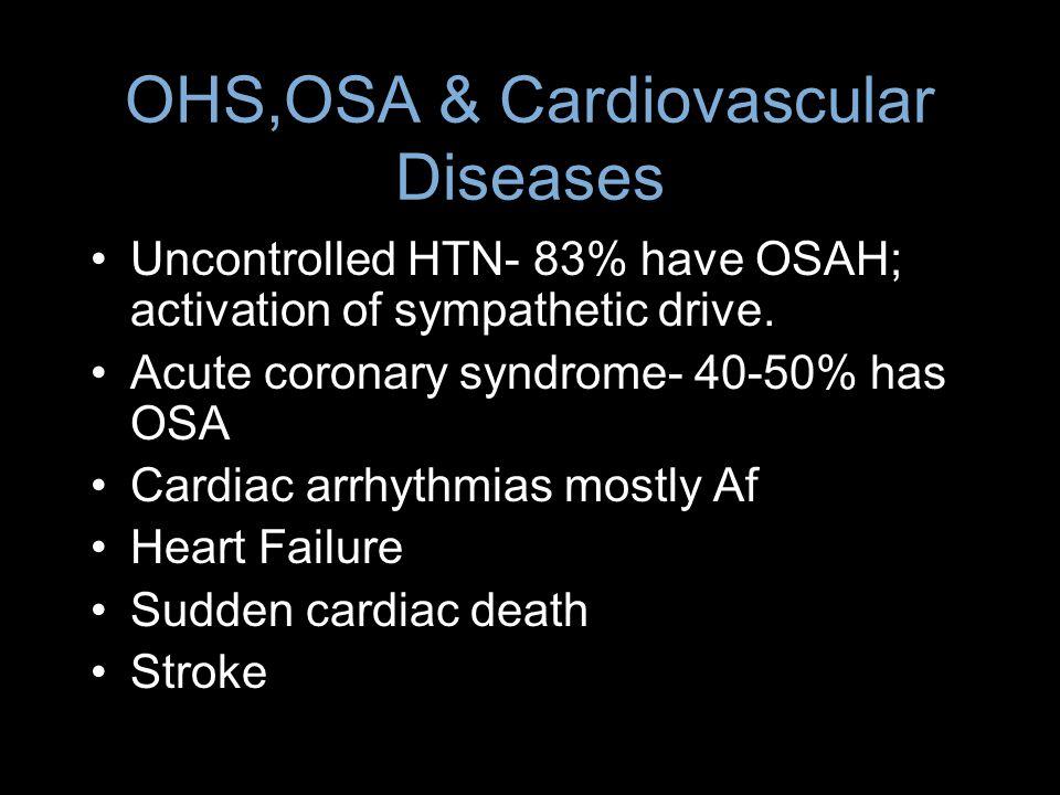 OHS,OSA & Cardiovascular Diseases
