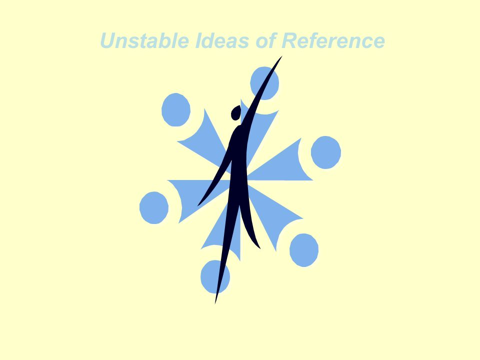 Unstable Ideas of Reference