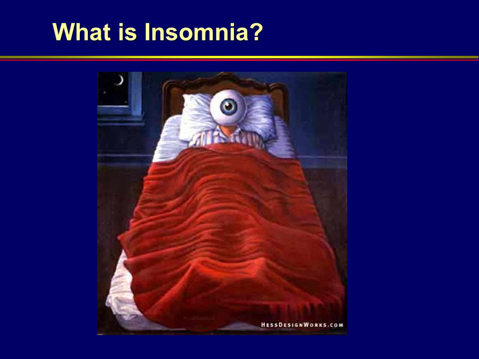 What is Insomnia SM McCurry - Madison 11/4/11