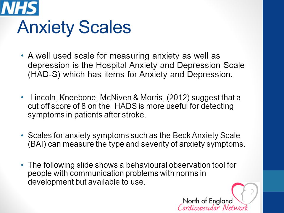Anxiety Scales