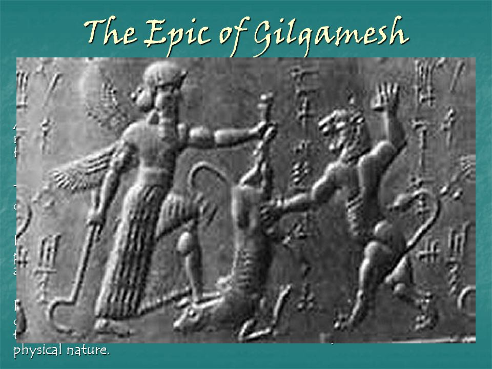 The Epic of Gilgamesh Timor mortis conturbat me