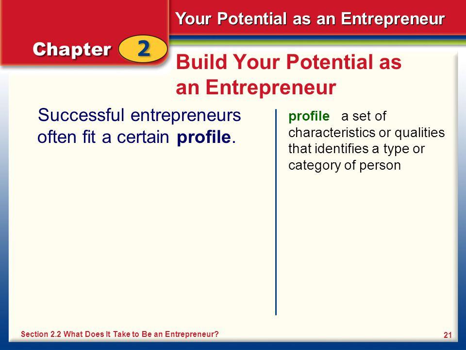 Build Your Potential as an Entrepreneur