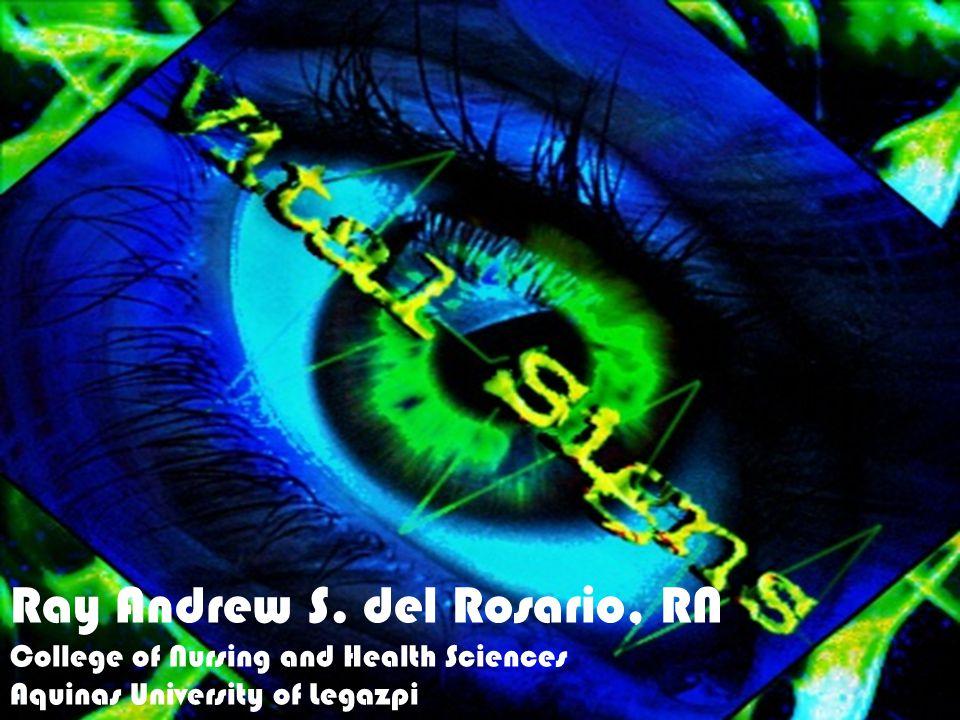 Ray Andrew S. del Rosario, RN