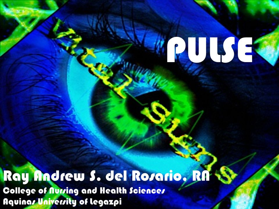 PULSE Ray Andrew S. del Rosario, RN
