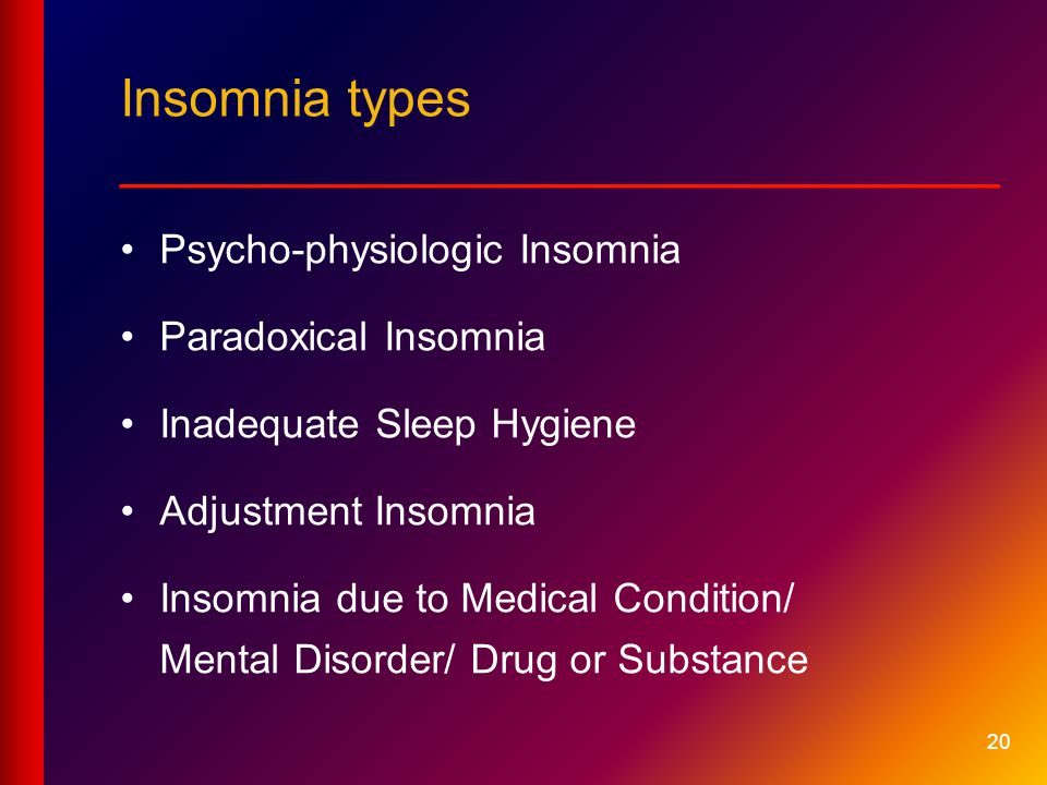background information on insomnia and other sleeping disorders Top 5 historical figures that had sleep disorders  benjamin franklin, was right  about many things, with the exception of his thoughts on sleep  breakdown on  lack of sleep, though historians mention other possible causes,.