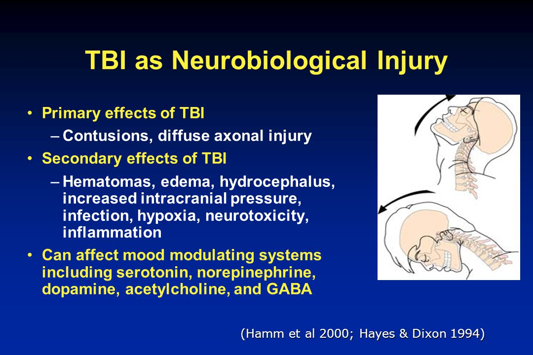 TBI as Neurobiological Injury