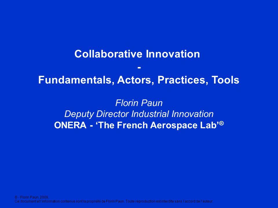 Collaborative Innovation - Fundamentals, Actors, Practices, Tools