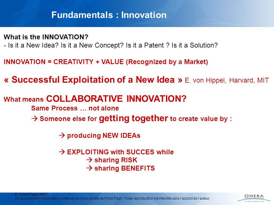 Fundamentals : Innovation