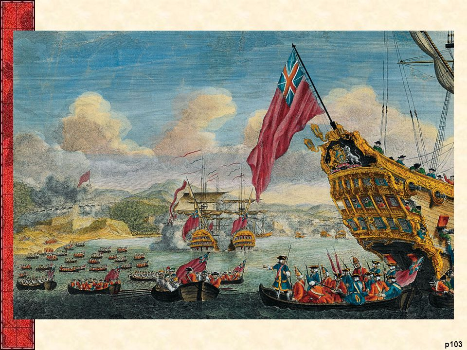 New Englanders Capture Louisbourg, 1745 When the final peace settlement of