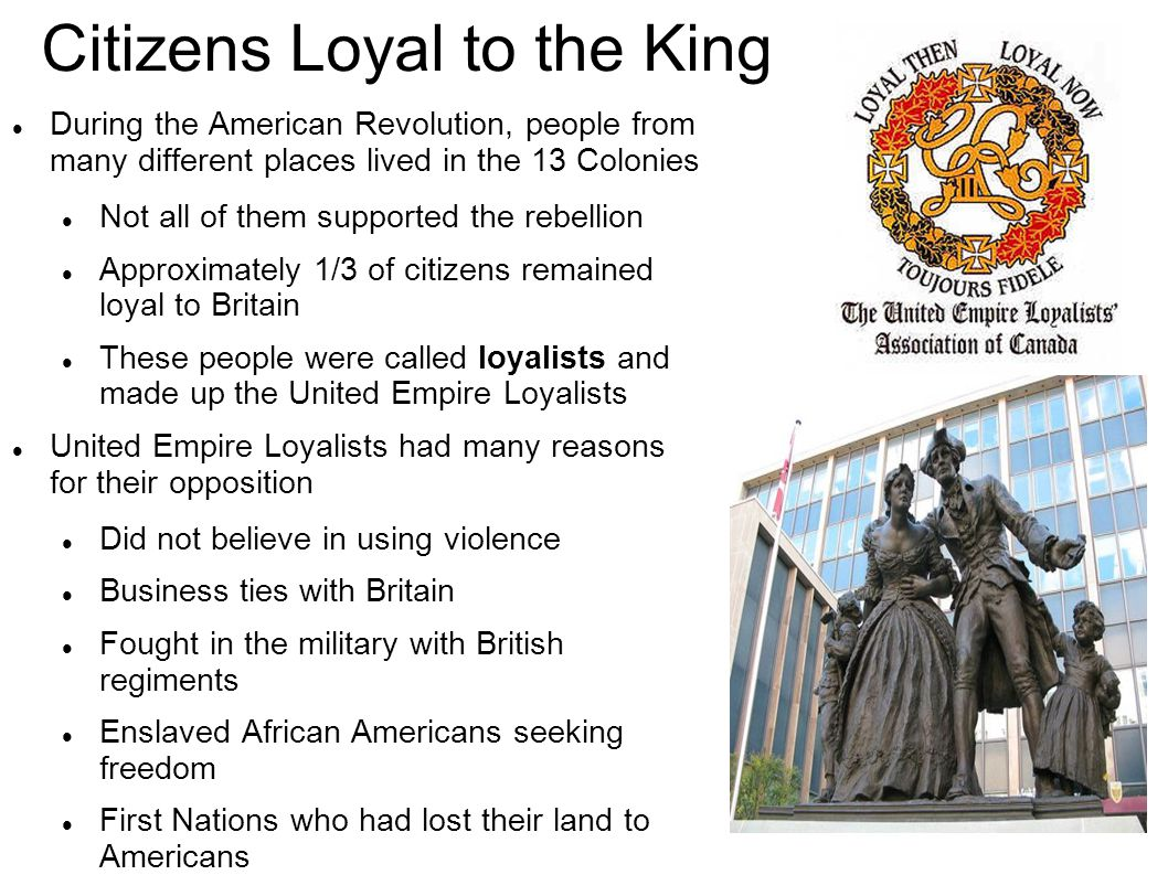 Citizens Loyal to the King