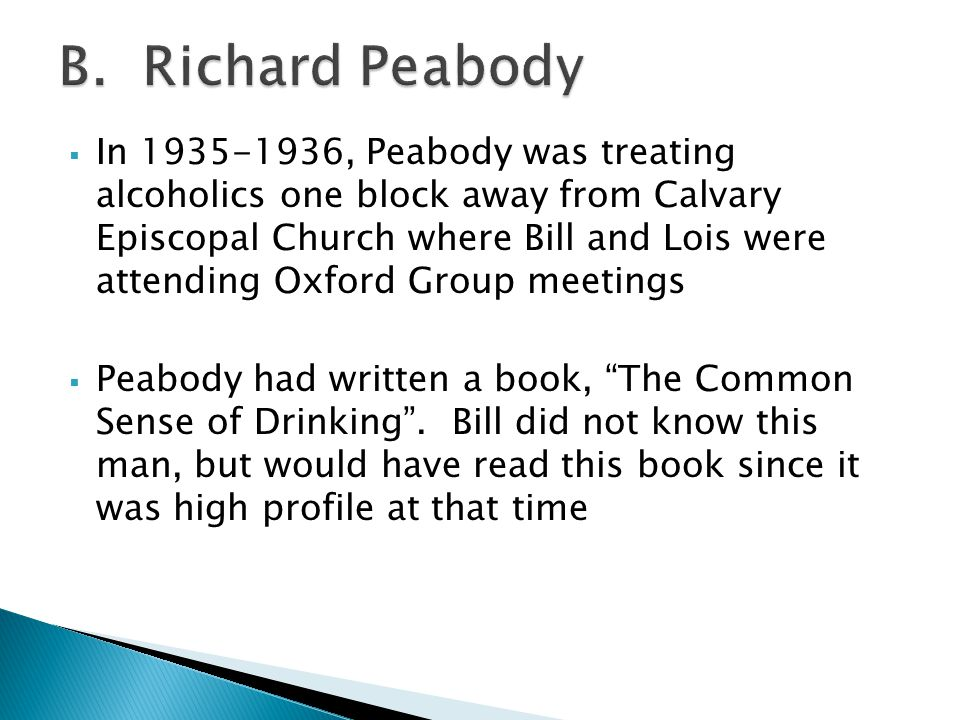 B. Richard Peabody