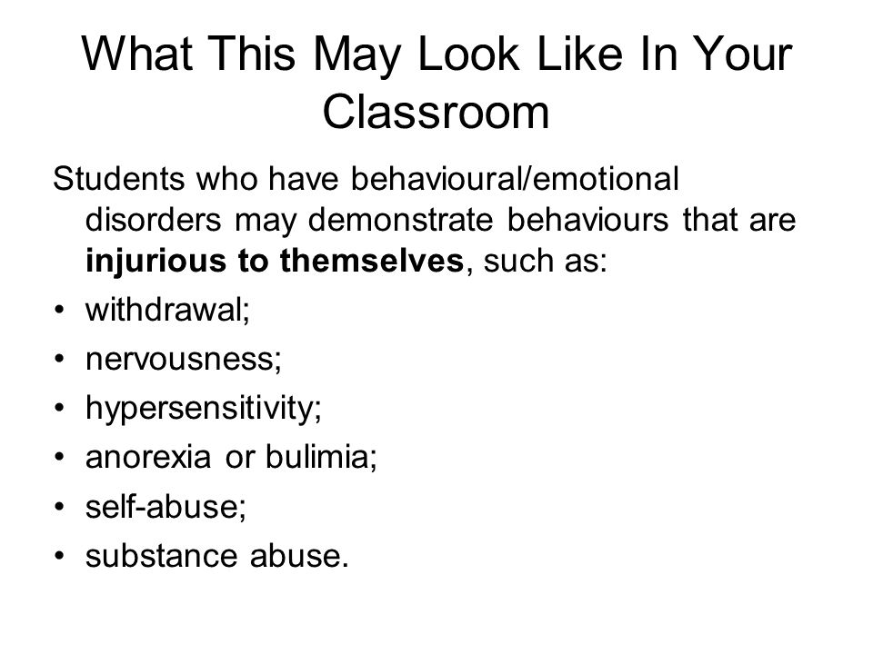 What This May Look Like In Your Classroom