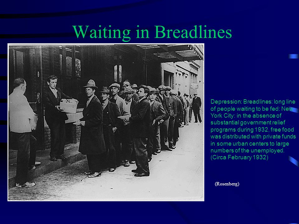 Waiting in Breadlines
