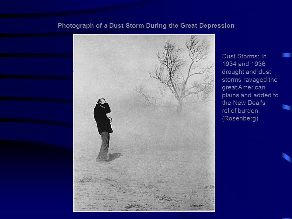 Photograph of a Dust Storm During the Great Depression