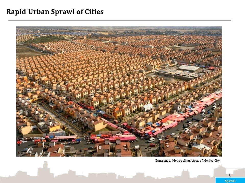 Rapid Urban Sprawl of Cities