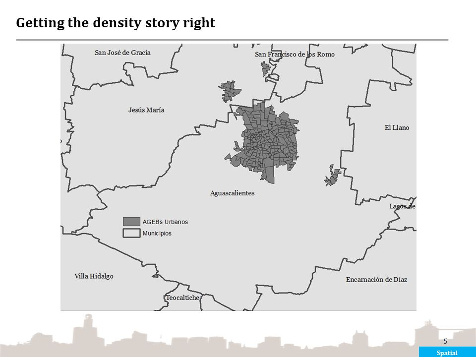 Getting the density story right
