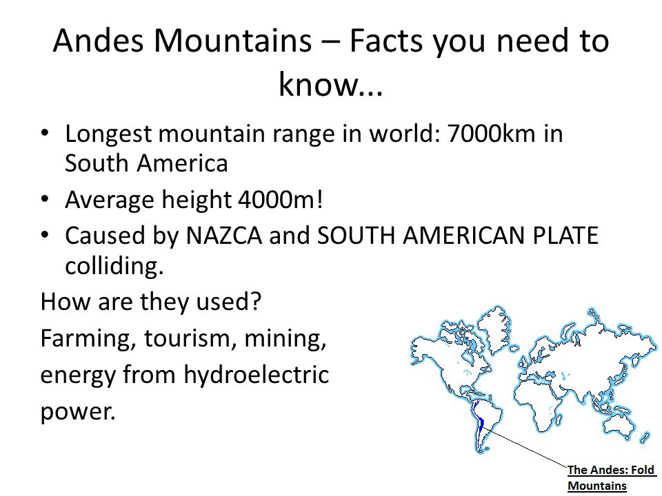 Andes Mountains – Facts you need to know...