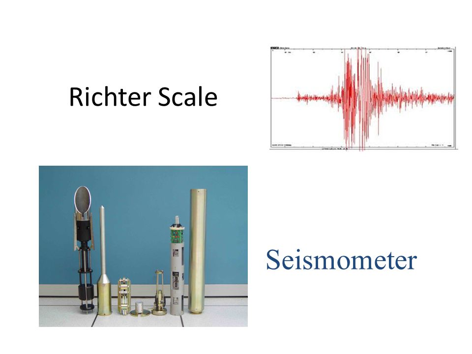 Richter Scale Seismometer