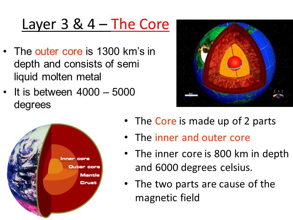 Layer 3 & 4 – The Core The Core is made up of 2 parts