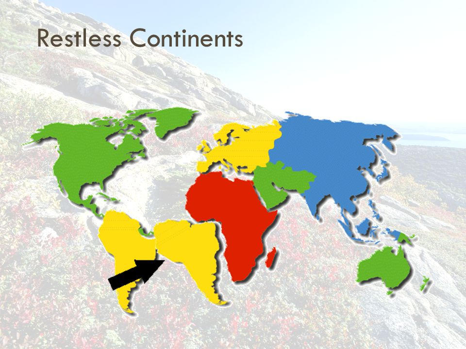 Restless Continents