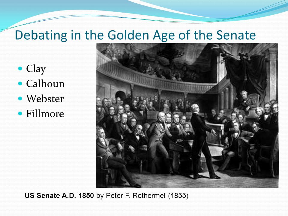 Debating in the Golden Age of the Senate