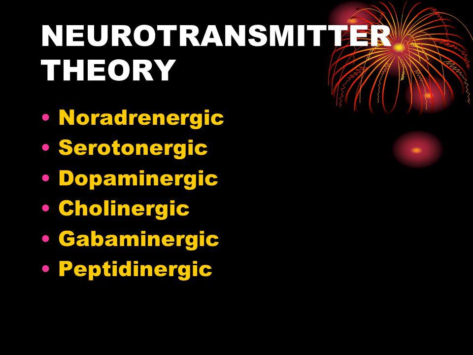 NEUROTRANSMITTER THEORY