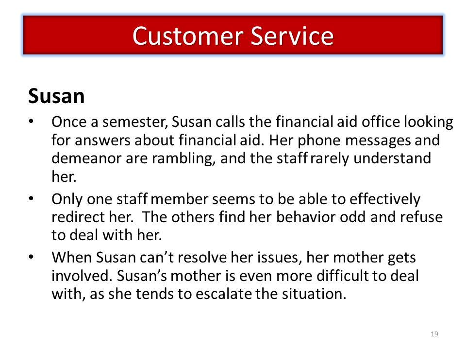 Customer Service Susan
