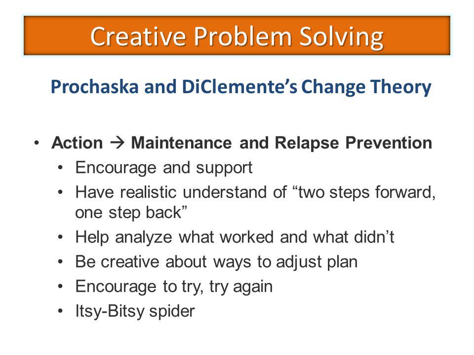 Prochaska and DiClemente's Change Theory