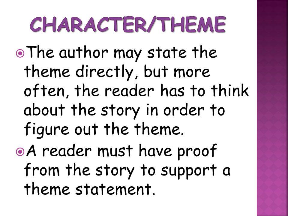 Character/Theme