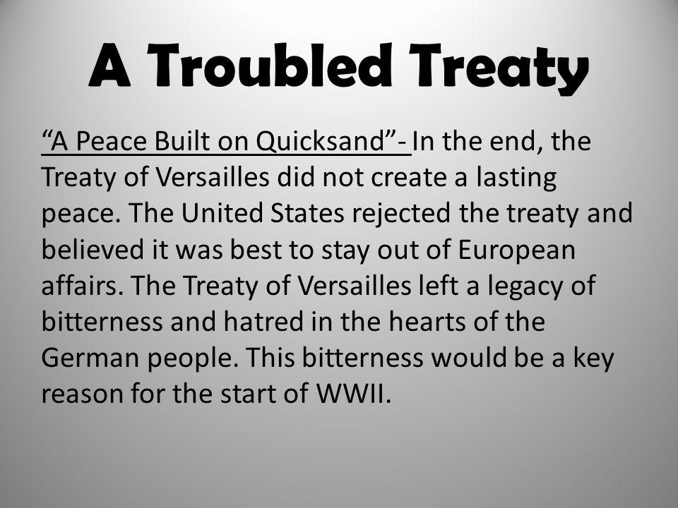 A Troubled Treaty
