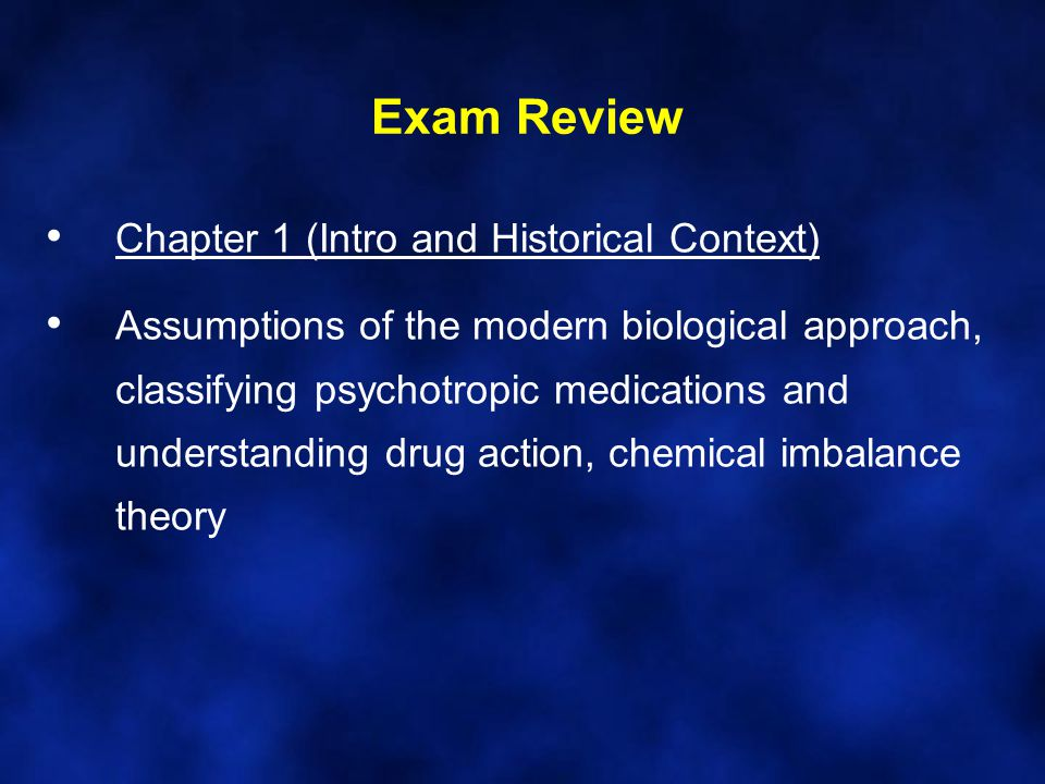 Exam Review Chapter 1 (Intro and Historical Context)