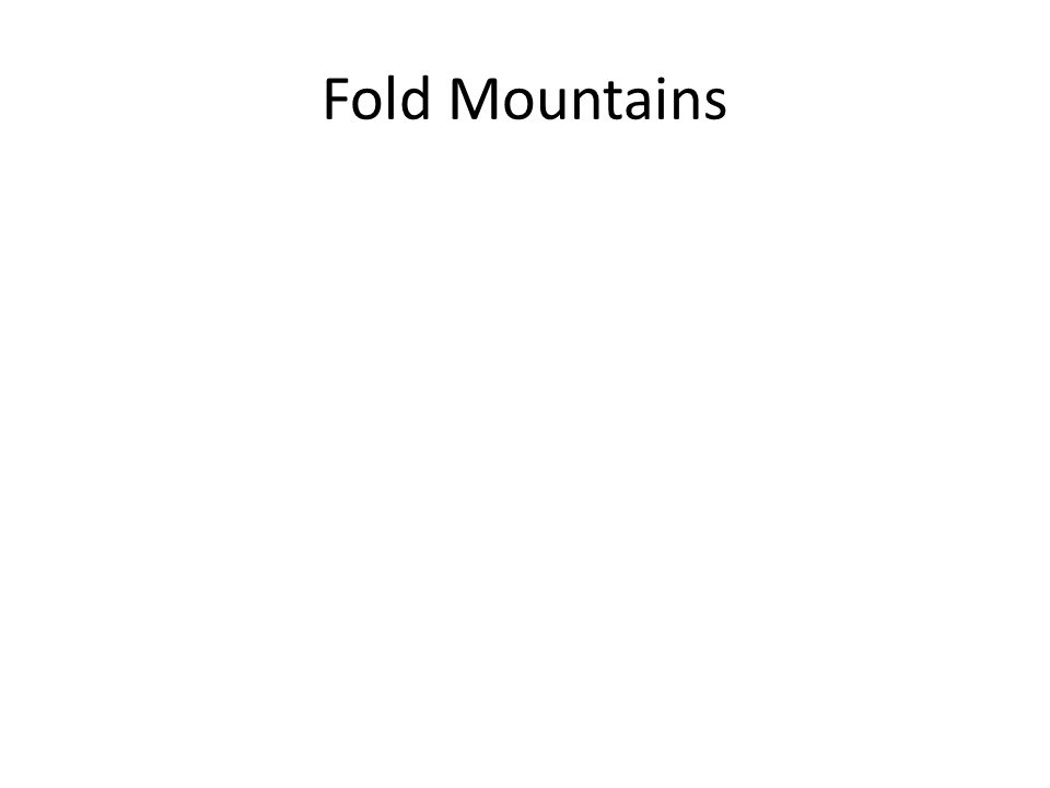 Fold Mountains