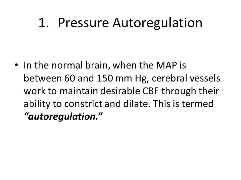 Pressure Autoregulation