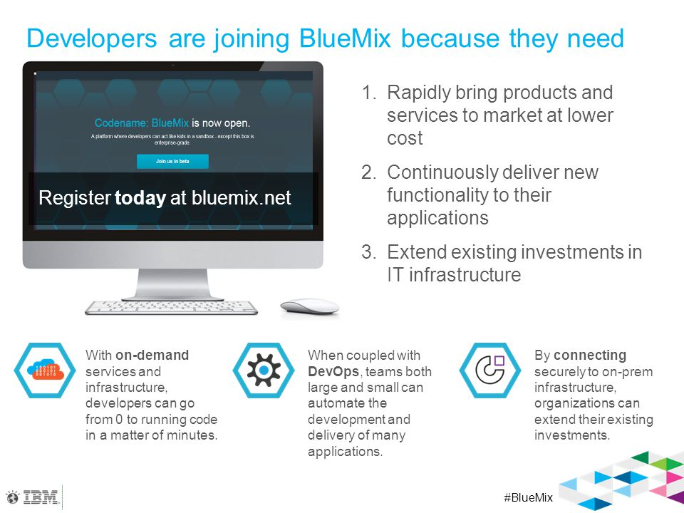 IBM Services Available in Q2 Codename: BlueMix
