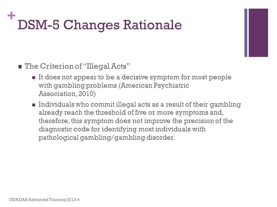 DSM-5 Changes Rationale