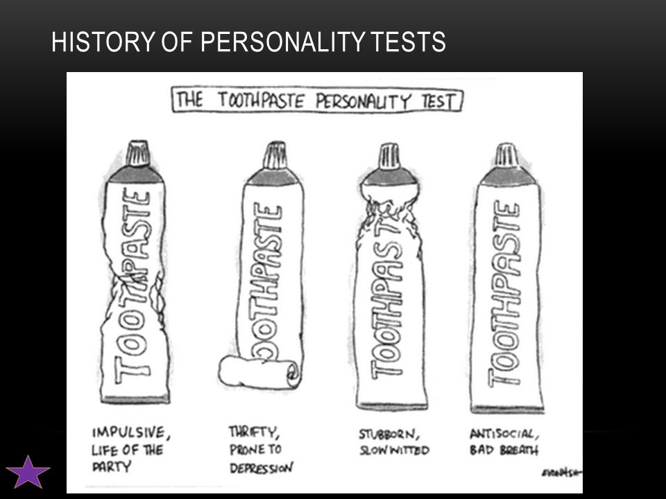 History of Personality Tests