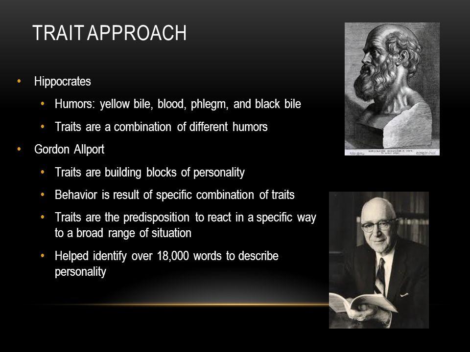 Trait Approach Hippocrates