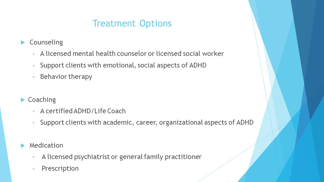 Treatment Options Counseling