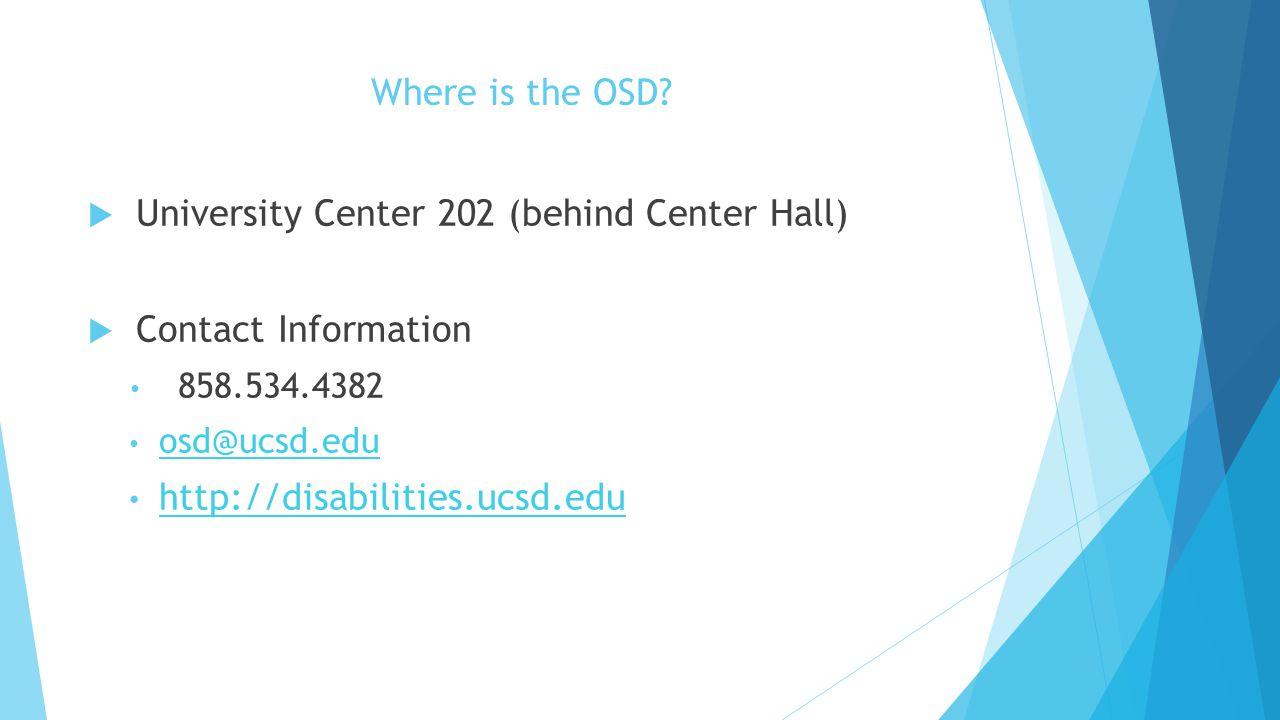 University Center 202 (behind Center Hall)