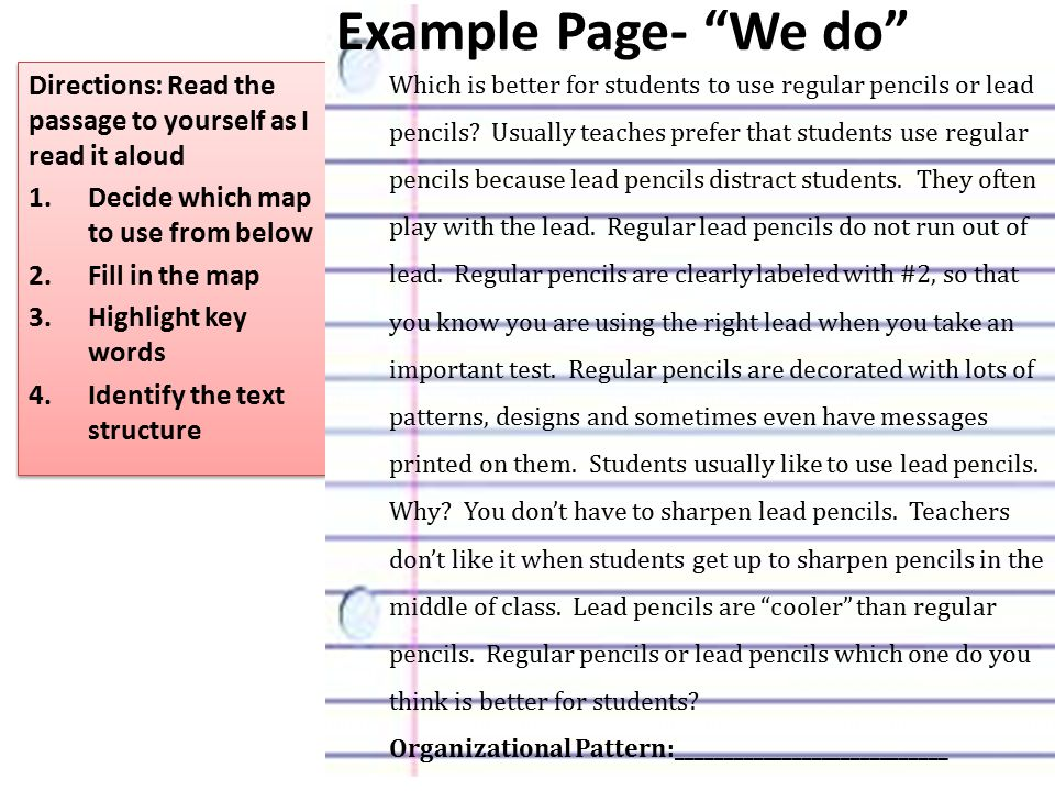 Example Page- We do