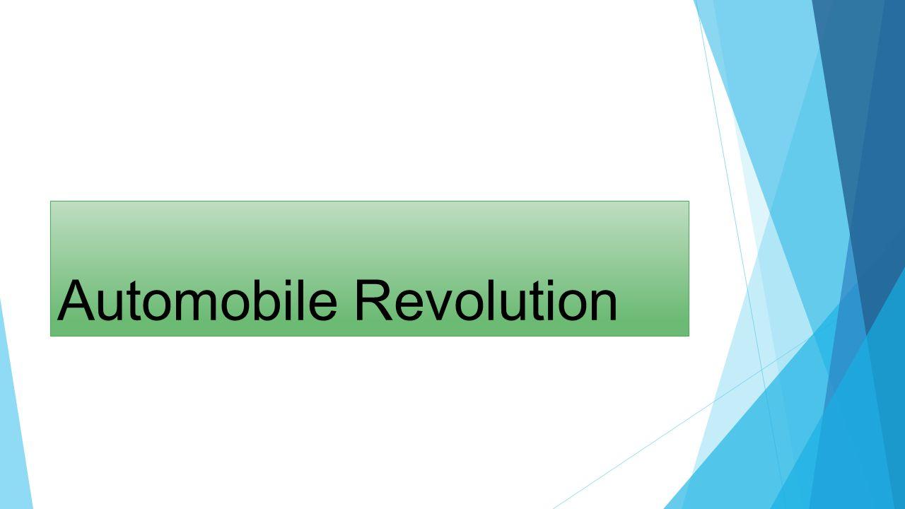 Automobile Revolution