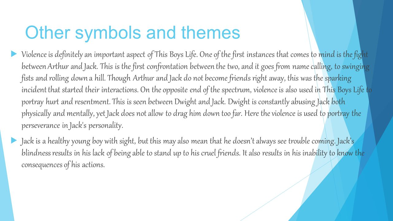 Other symbols and themes