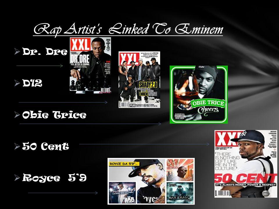 Rap Artist's Linked To Eminem