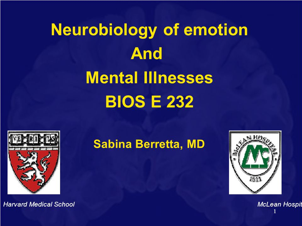 Neurobiology of emotion