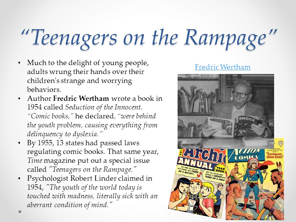 Teenagers on the Rampage