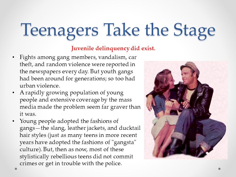 Teenagers Take the Stage