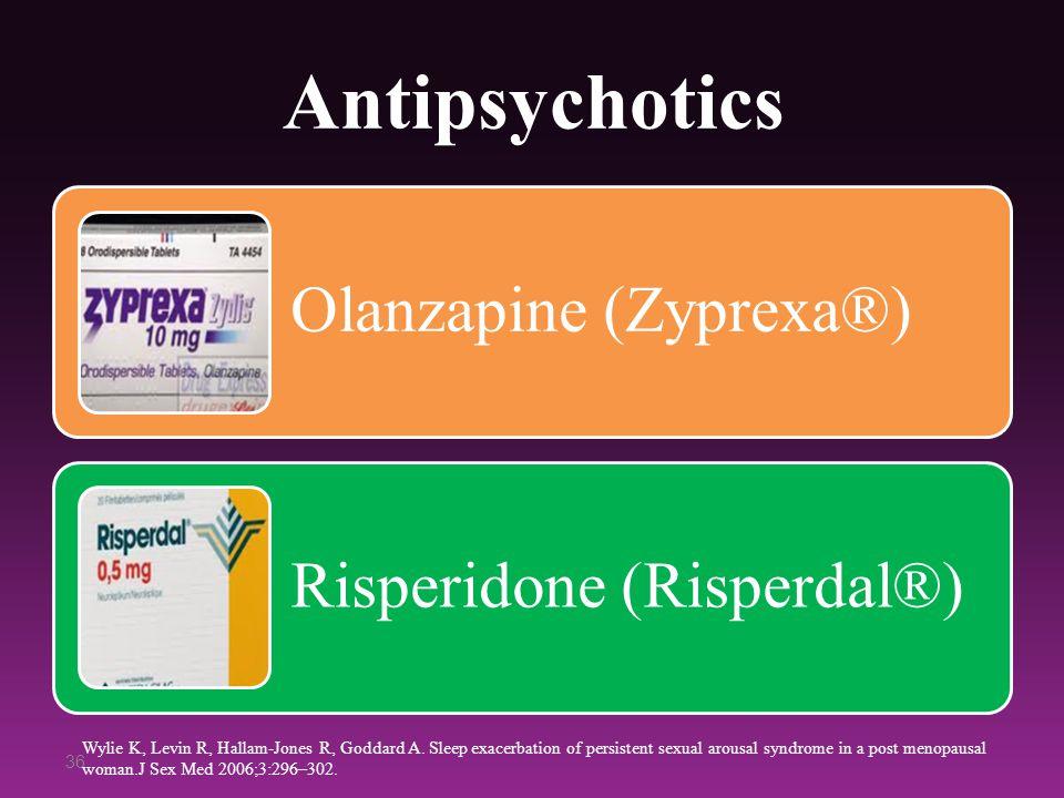 Antipsychotics Olanzapine (Zyprexa®) Risperidone (Risperdal®)