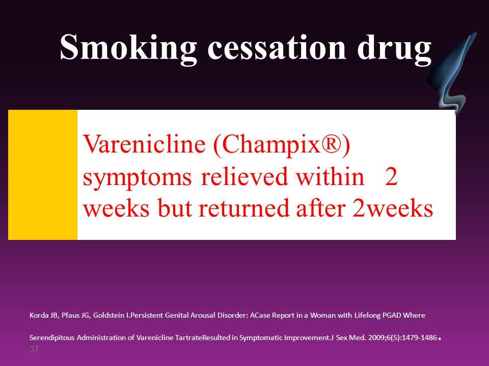 Smoking cessation drug