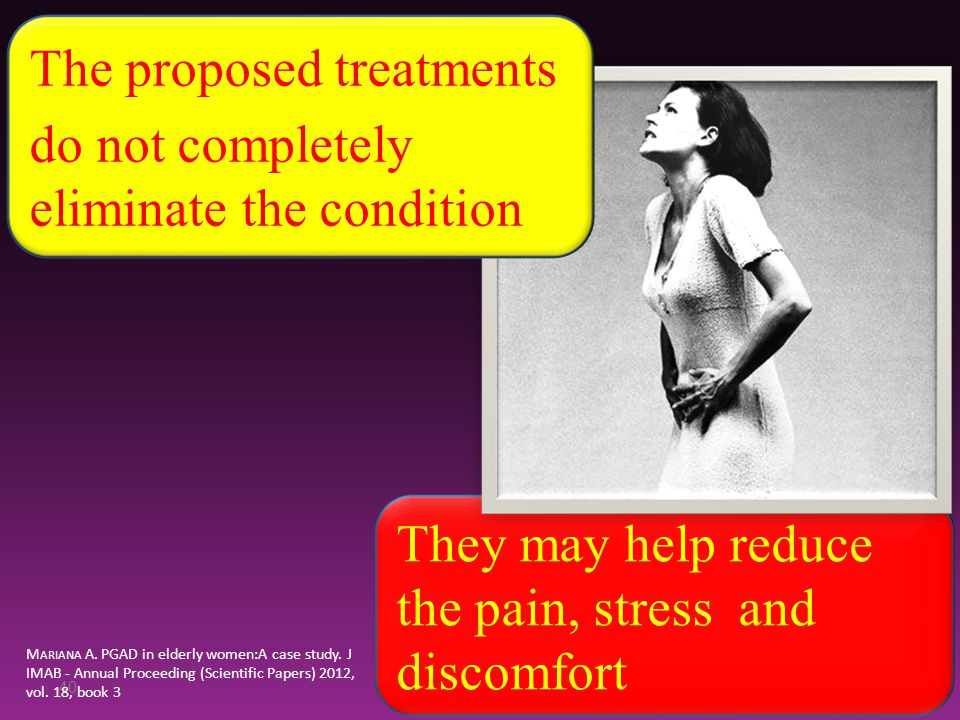 The proposed treatments do not completely eliminate the condition