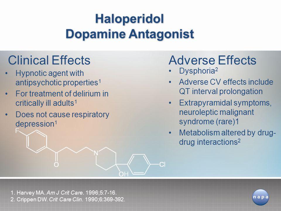Haloperidol Dopamine Antagonist